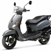SYM Fiddle II Rich Grey – populaire scooter